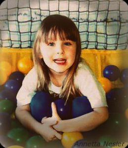 Me at age 6 in a Ball Pit