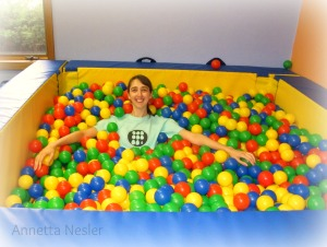 Me In The Ball Pit