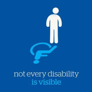 Not ever disability is visable picture